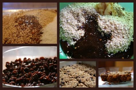 the making of granola bars