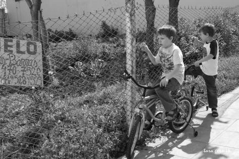 ridin' bikes